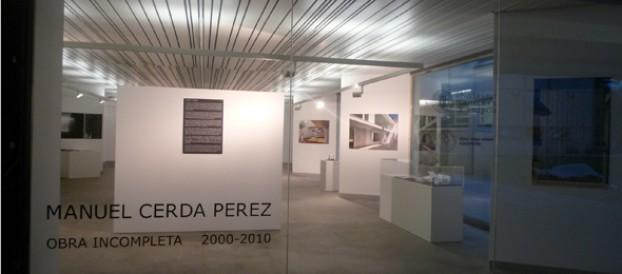 Exposición «Manuel Cerdá, Obra Incompleta» en la ETSAV