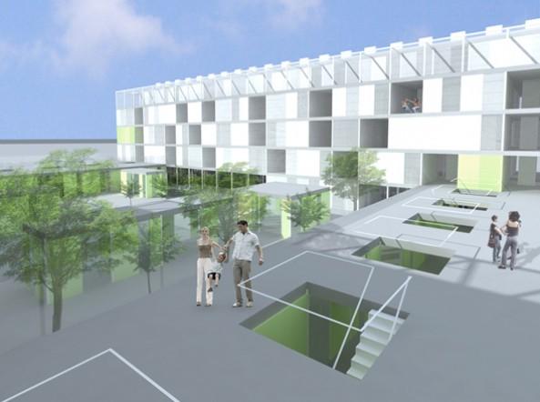 Edificio UBI180 – Sistema Ubicuo – Primer premio concurso de investigación de viviendas
