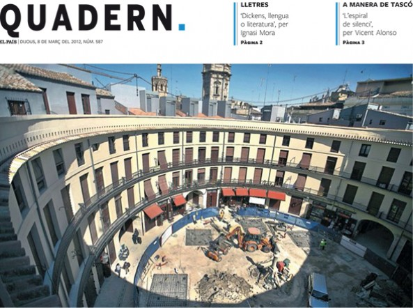 Publicación en el Quadern de El País