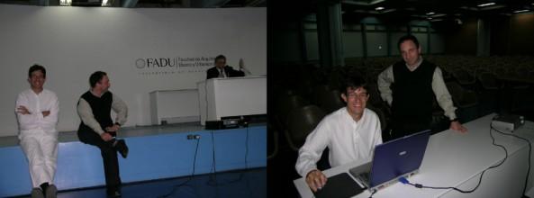 Conferencia en la FADU Buenos Aires