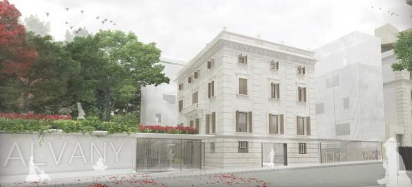 2º Premio en el Concurso para la Biblioteca S.Gervasi Galvany en Barcelona