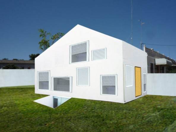 Casas S+P – Dos cáscaras habitadas