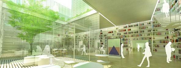 Concurso Biblioteca en Vic