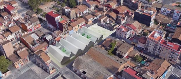 GANADORES del concurso para el NUEVO CENTRO CIVICO CULTURAL en El Cabanyal, (València)
