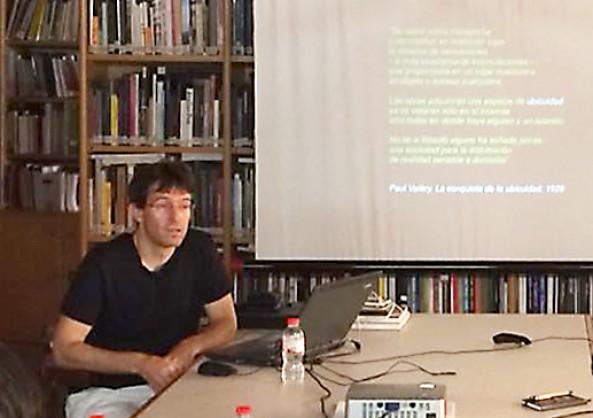 """Presentación del libro """"El Espacio Ubicuo"""" en el CTAC (Colegio Territorial de Arquitectos de Castellón)"""