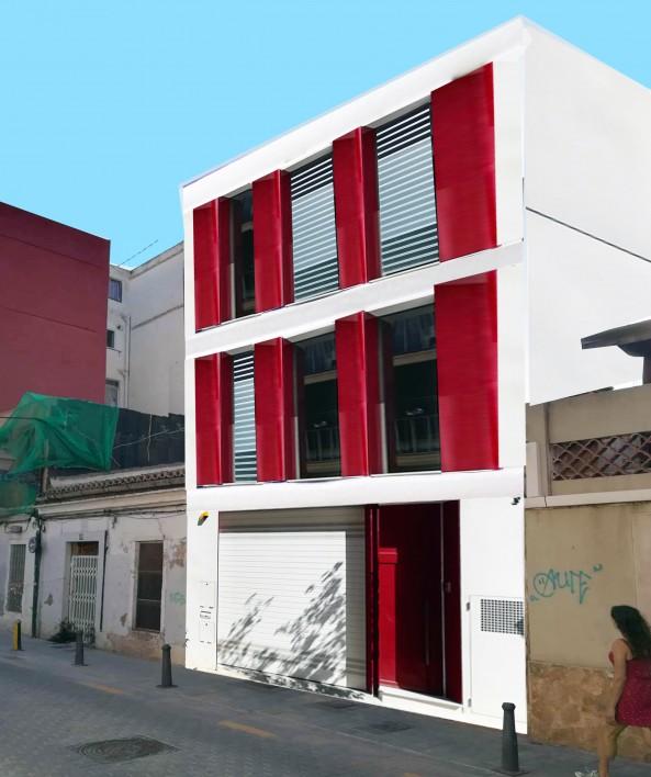 Casa V+R – Casa al revés 01 / Casa filtro